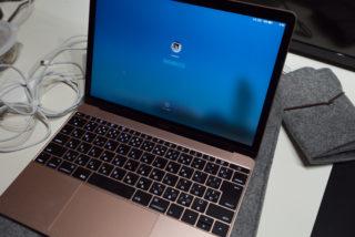 Macbook12インチ 2016年モデルを購入
