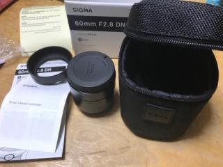 SIGMA 単焦点望遠レンズ Art 60mm F2.8 DN 購入