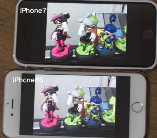 iPhone7到着、まずは6Sとカメラ性能比較でしょう