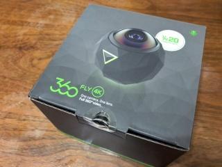 アクションカメラ 360flyを買いました